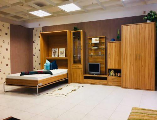 Jugendzimmer mit Wandklappbett